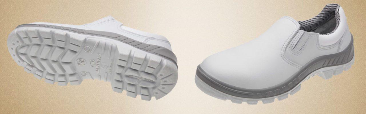 Sapato Micro Fibra Branco Marluvas