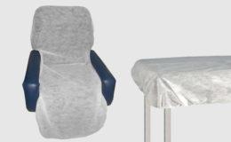 Lençol Descartável em TNT com Elástico