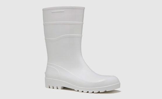 Bota em PVC Branco
