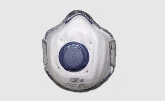 Máscara de Proteção semi-facial contra Vapores inorgânicos e Gases ácidos GA