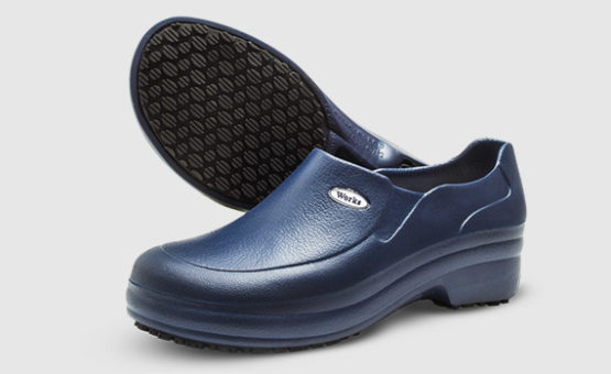 Sapato Soft Work Azul