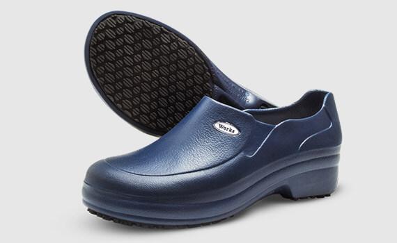 Sapato Med Work Azul