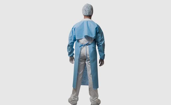 Avental Impermeavel Azul Costas