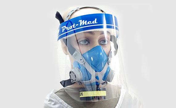 Respirador Semi Facial com filtro