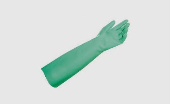Luvas de Proteção Nitrilica Longa